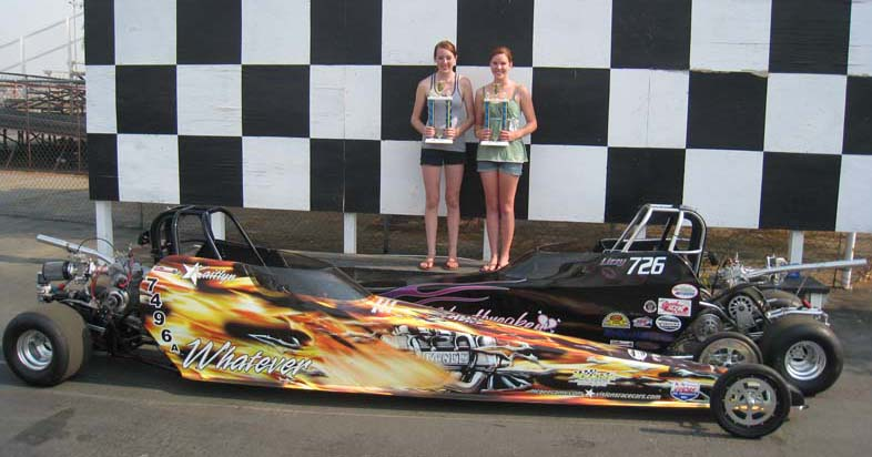 Complete Junior Dragsters